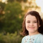 Child Portrait in Golden Light