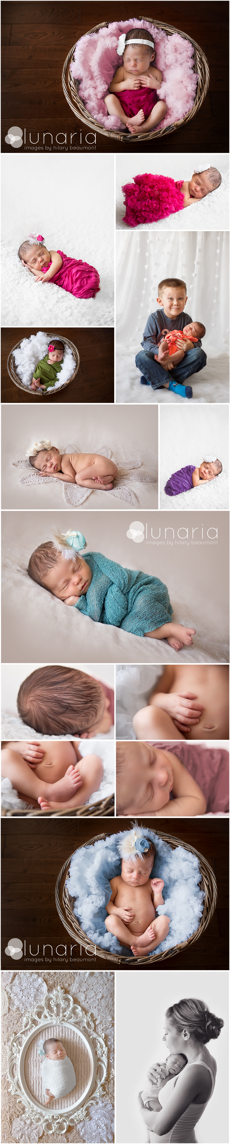 Baby Alexandra's First Photo Shoot